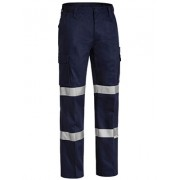 3M Double Taped Cotton Drill Cargo Pant (Navy)