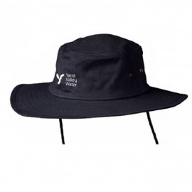 Wide Brim Hat (Navy) with YVW logo