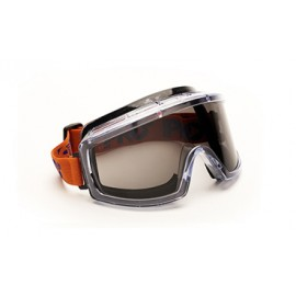 Strapped Safety Goggles - Smoke