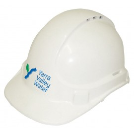 Vented Hard Hat (White)