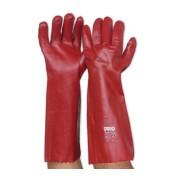 PVC Single Dipped Long Glove