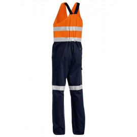 3M Taped Hi Vis Action Back Overall with 2 logos